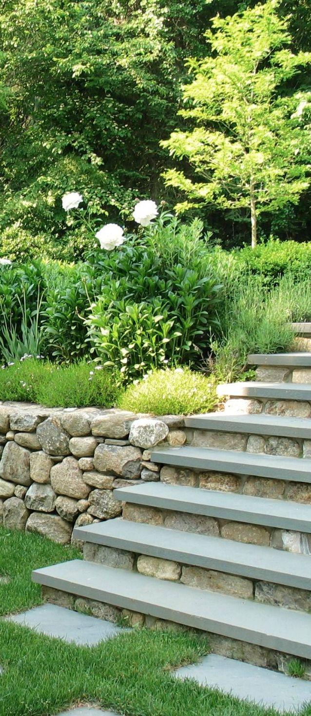 Landscaping a slope on pinterest landscaping a slope for Slope landscape design