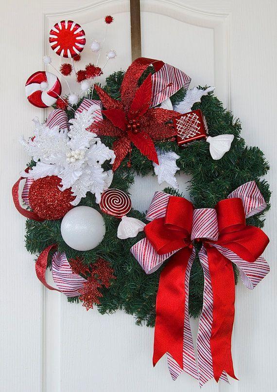 Christmas wreath designer christmas wreath elegant holiday wreath