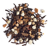... tea. It's a sweet, toasty black tea blend with cinnamon, brittle and