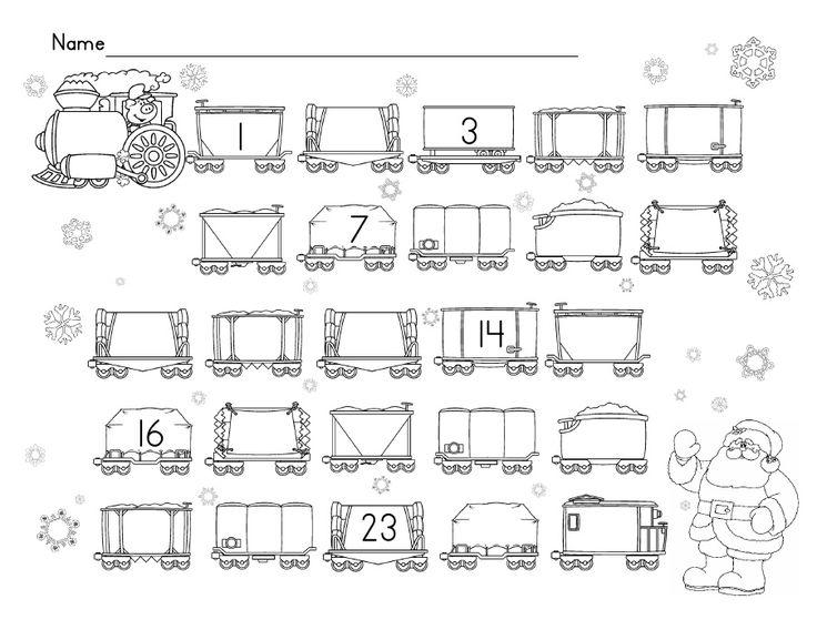 polar express coloring pages kindergarten - photo#27