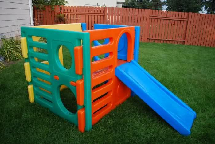 Little tikes play cube bing images for Little tikes outdoor playset
