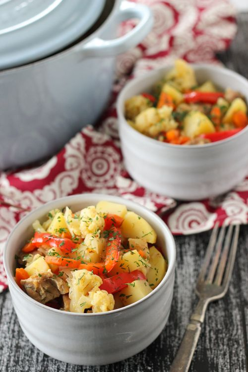 Braised Chicken With Vegetables - I love that this uses celery root ...