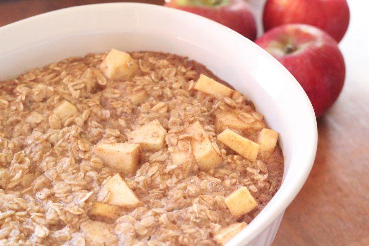 Apple Cinnamon Oatmeal Casserole | Foods & Nutrition Class | Pinterest