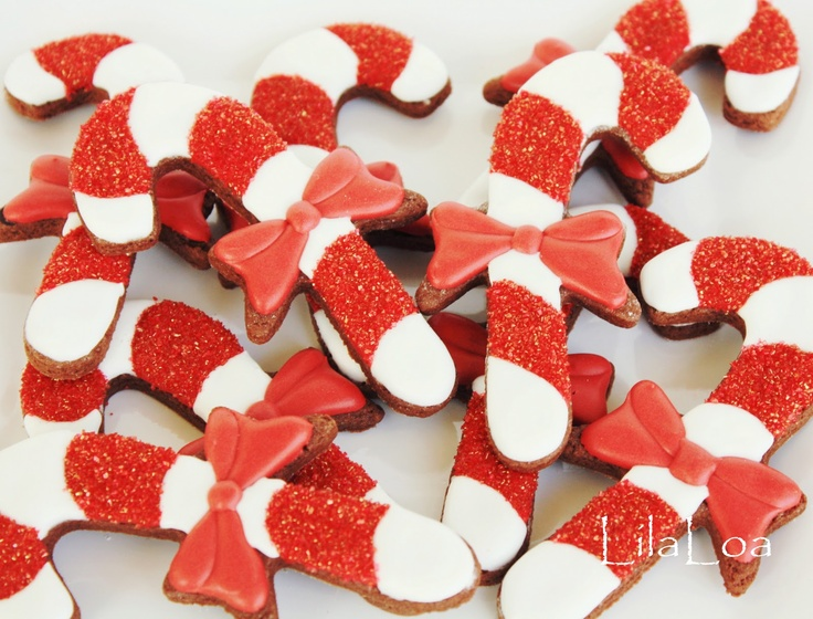 Candy Canes | Christmas Cookies | Pinterest