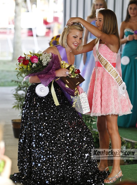 Photo Gallery: Sydney Stratton of Lawrenceburg is crowned Miss Teen Bluegrass Fair