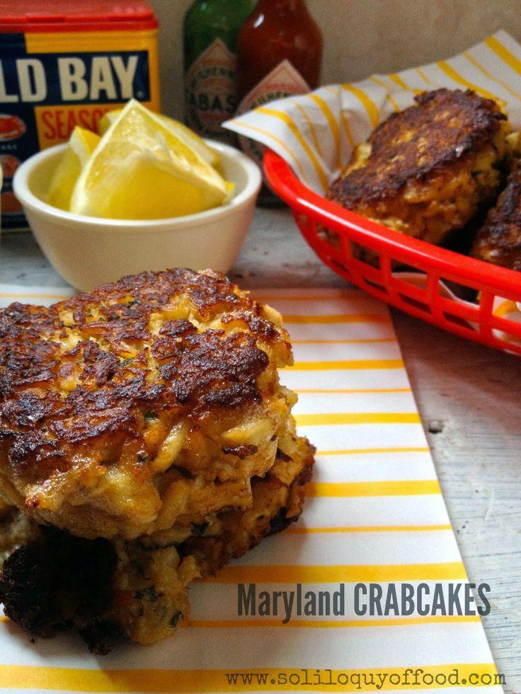 Maryland Crab Cakes | Recipes | Pinterest