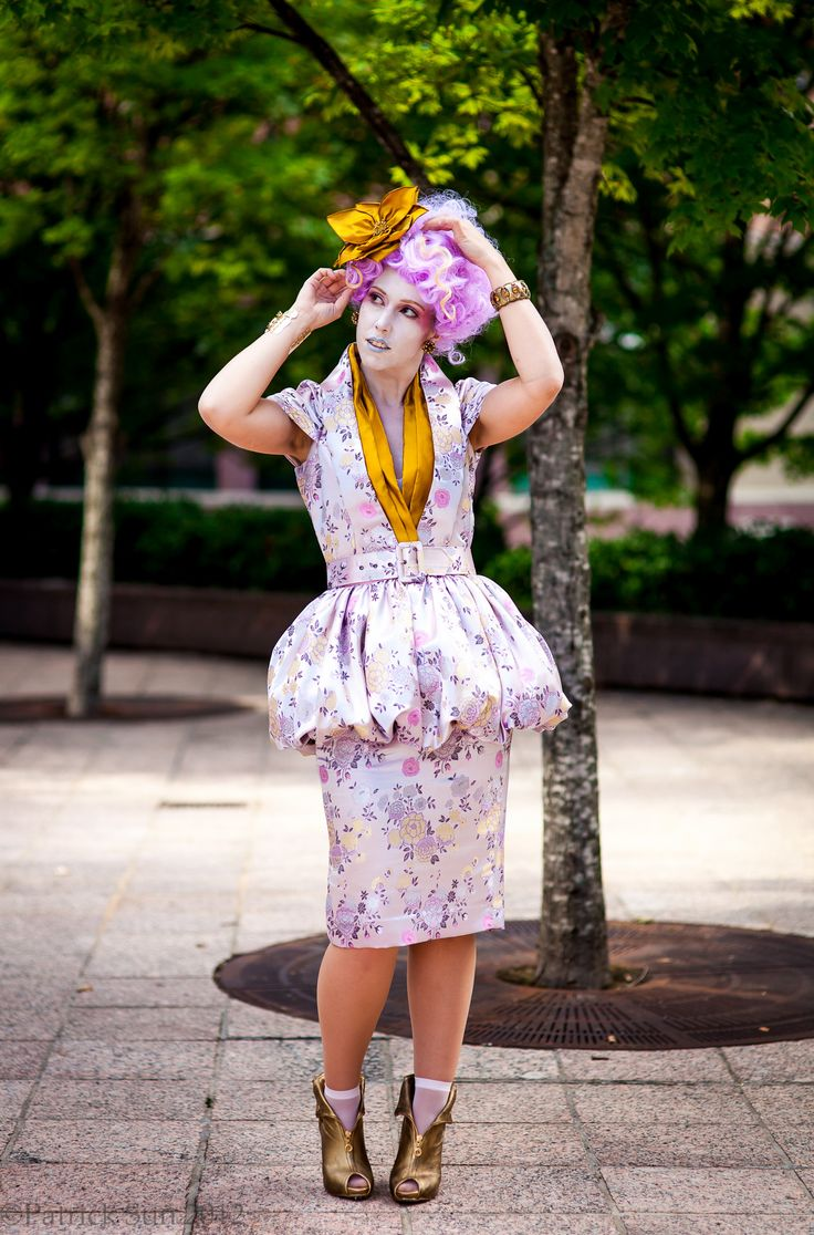 Effie Trinket Hunger Games halloween costume
