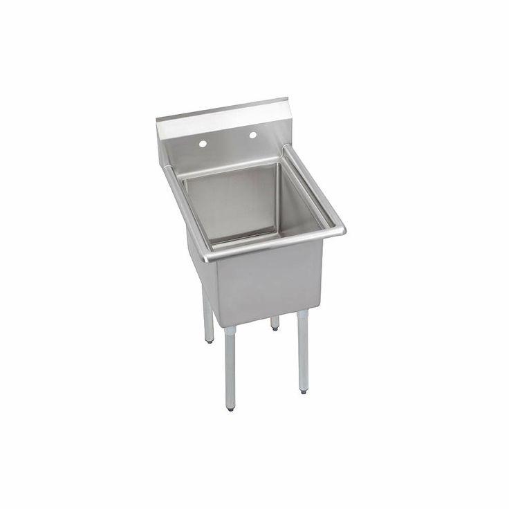ELKAY Scullery Sink,Without Faucet,29 In. L - Scullery Sinks - 11U312 ...