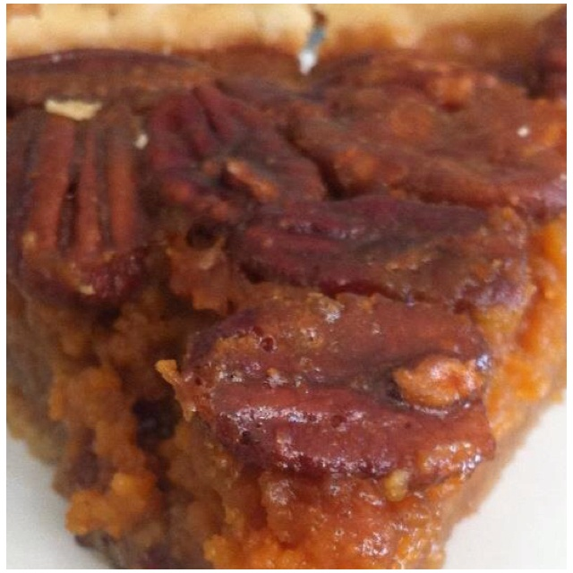 pecan streusel sweet potato casserole with maple pecan topping sweet ...