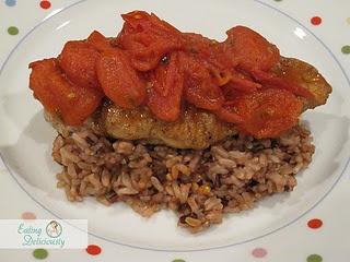 Chicken with Tomato Herb Pan Sauce   Chicken & Turkey   Pinterest
