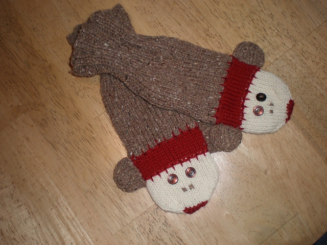 Knitting Pattern For Sock Monkey Mittens : 301 Moved Permanently