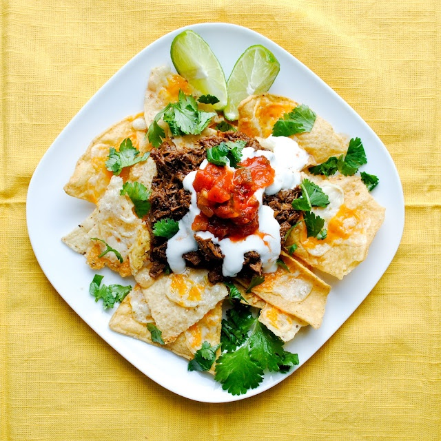 Bake. Eat. Repeat.: Crockpot Barbacoa Beef and Killer Spicy Nachos