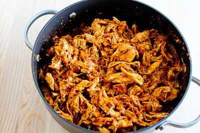 Slow Cooker Pulled Chicken (or pork) Lettuce Wraps Recipe with Low ...