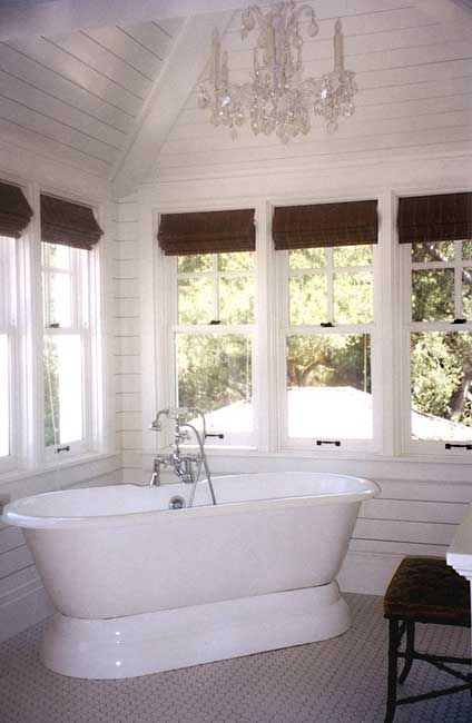 Tommy Chambers Interiors bath | Dutch Colonial | Pinterest
