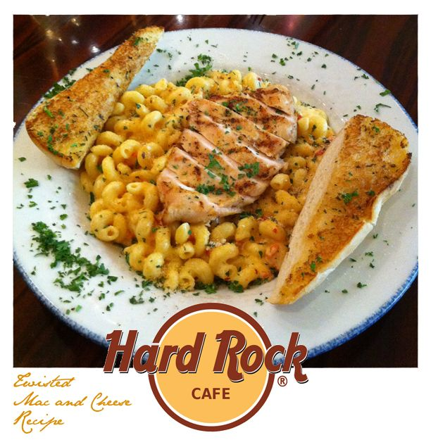 Hard Rock Cafe Twisted Mac Cheese With Chicken Recipe