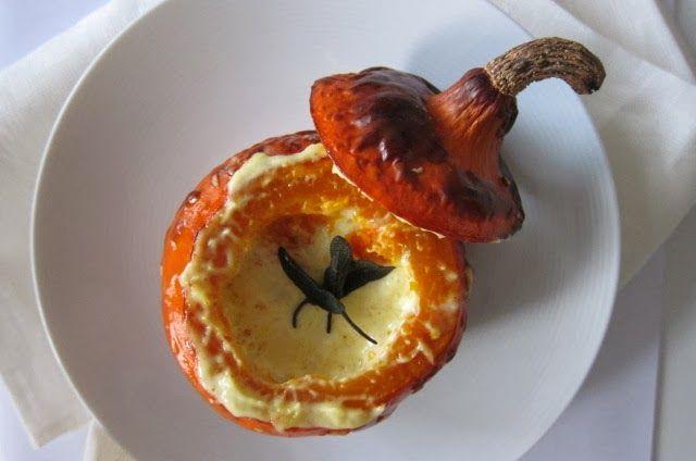 Pumpkin Cream Soup with Gruyere (Bocuse via Hopkinson)