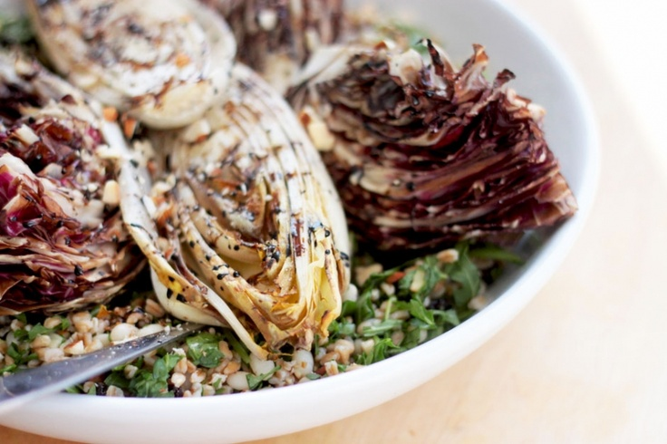 ... and white bean salad with grilled endives>> http://thefirstmess.com