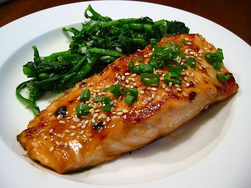 -Roasted Miso Sesame Salmon - dairy-free Aya made Miso-Glazed Salmon ...