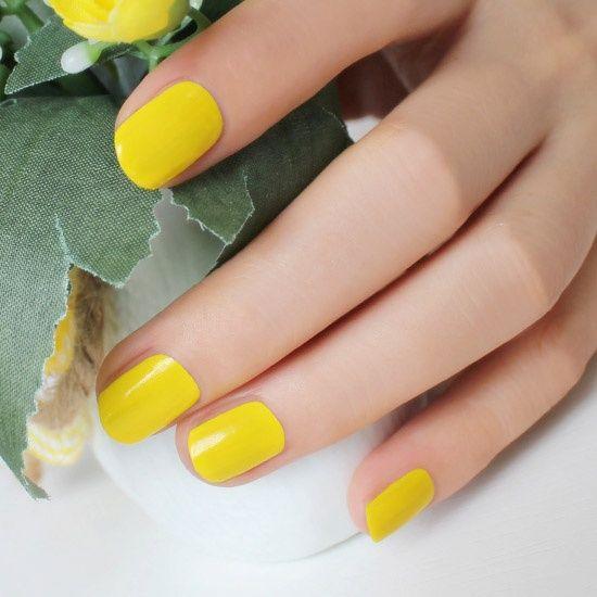 Bright Yellow Nail Polish