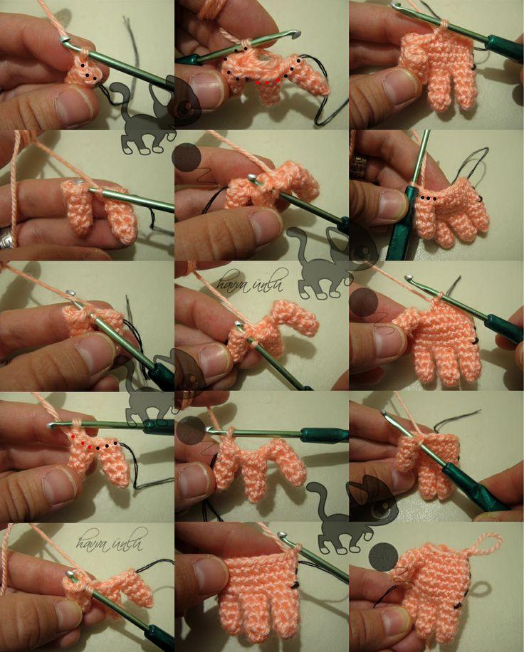Игрушка инопланетянин крючком. Работа Елены - вязание