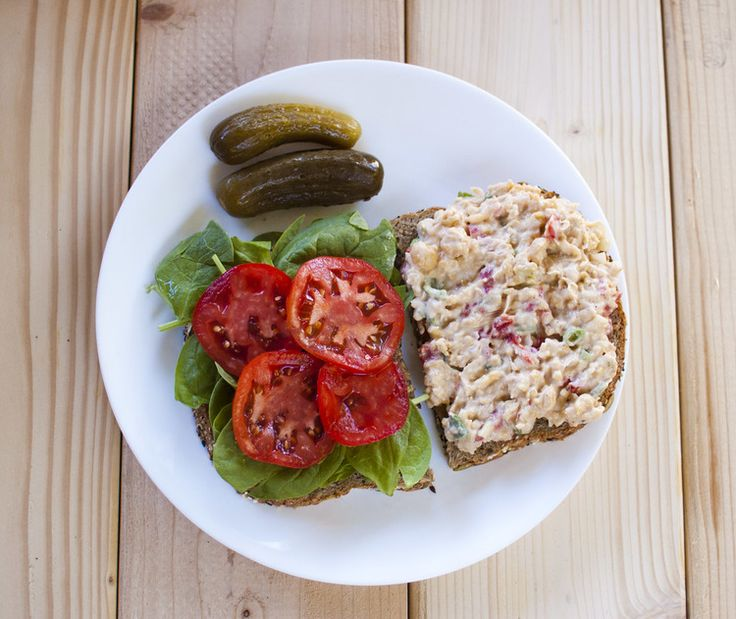 Roasted Red Pepper Chickpea Sandwiches   sammiches and burgers   Pint ...