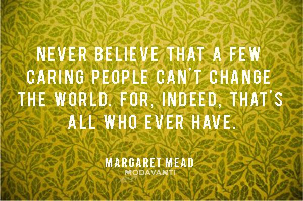 Care can change the world