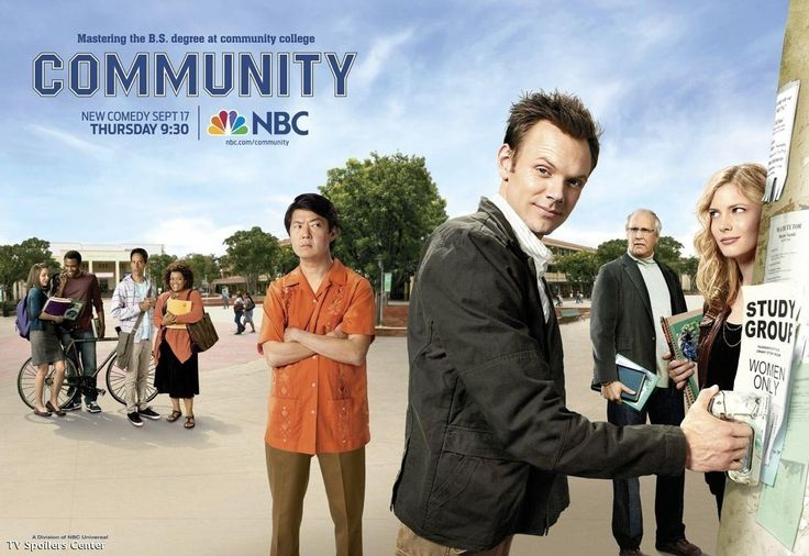 Community... really good comedy (TBone and Abed are awesome)