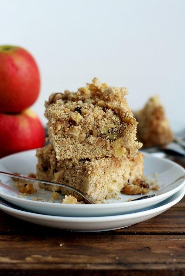 Whole Grain Apple Coffee Cake | Must Make Recipes | Pinterest
