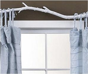 Inexpensive Curtain Rod Ideas Cute Curtain Rod Ideas