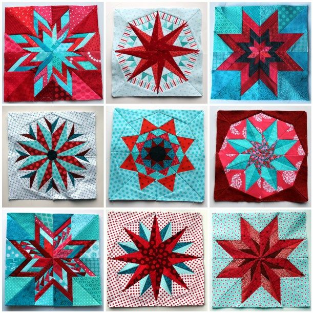 Quilting Designs On Paper : Paper Piecing Monday blocks quilts/tutorials Pinterest