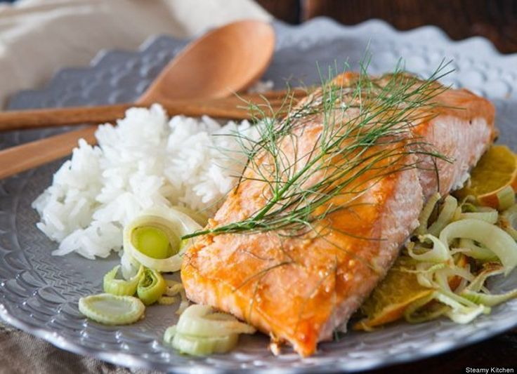 Miso Salmon With Orange And Fennel Recipes — Dishmaps