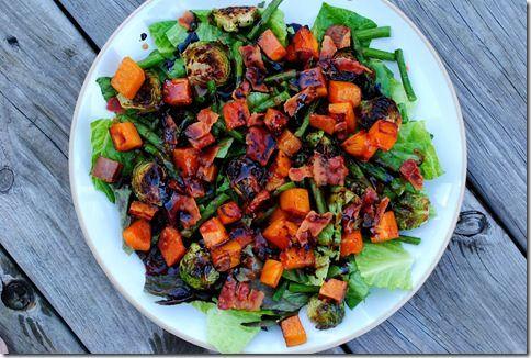 Roasted Veggie Salad | Recipes I Want to Try | Pinterest