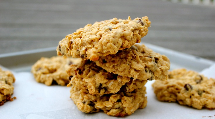 Low Fat Chewy Chocolate Chip Oatmeal Cookies Recipes ...