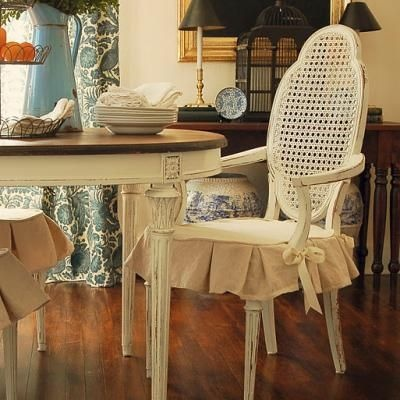Dining Room on Dining Room Chair Slipcover  The Dining Room    Sewing