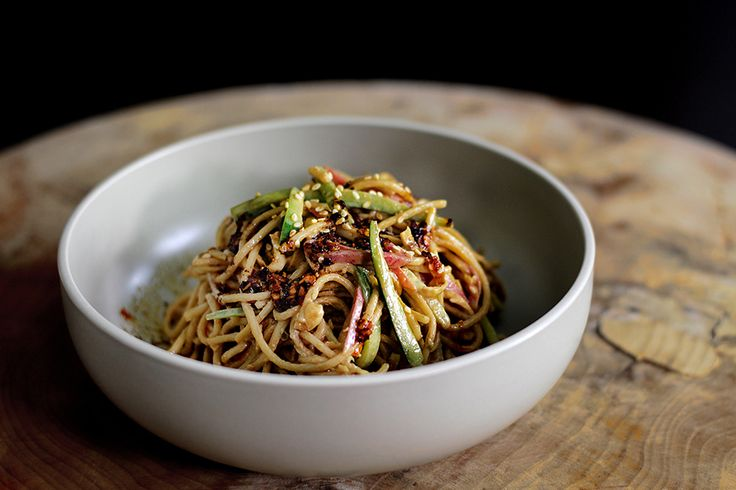 Fiery Cold Sichuan Sesame Noodle | Food!! | Pinterest