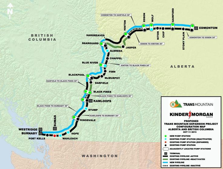 Planning The Route | Trans Mountain