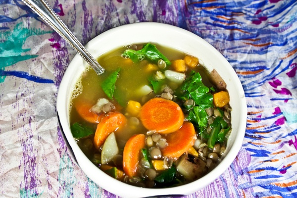 Lentil and Swiss Chard Soup | Favorite Recipes | Pinterest