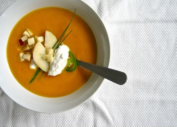 Apple-Butternut Squash Soup | Soups & Stews | Pinterest