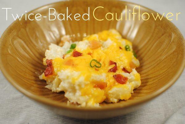 Twice Baked Cauliflower | Yummy Things to Make | Pinterest