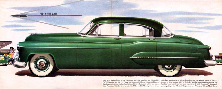 1950 oldsmobile 98 four door sedan oldsmobile pinterest for 1950 oldsmobile 4 door