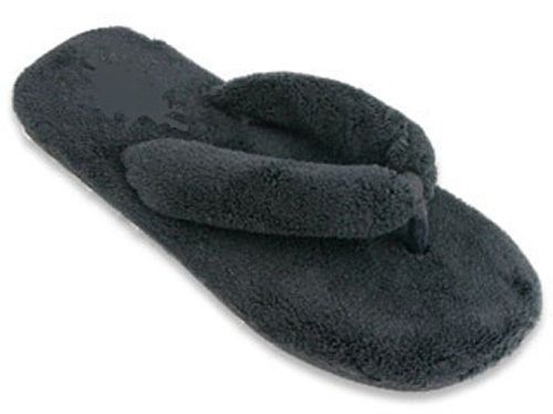 Ladies Slippers Shoe Fuzzy Flip Flop Bedroom Thong Soft Fluff Fluffy