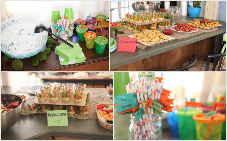 more dino party ideas  Dino Birthday Party  Pinterest