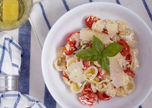 Pasta with Cherry Tomatoes and Ricotta | Food!! | Pinterest