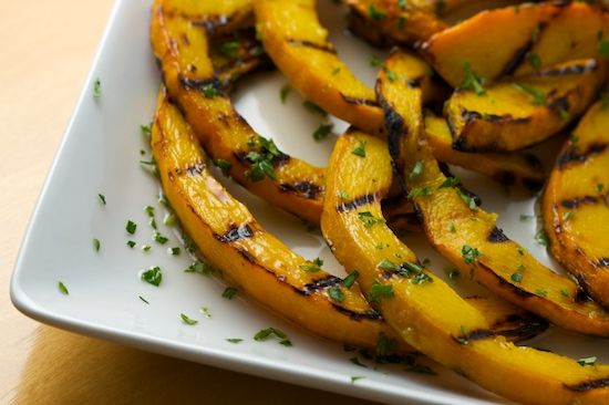 Sweet And Sour Grilled Pumpkin Recipe — Dishmaps