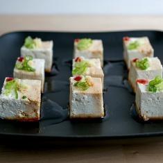 Yakko Tofu Bites Recipe | Appertizers | Pinterest