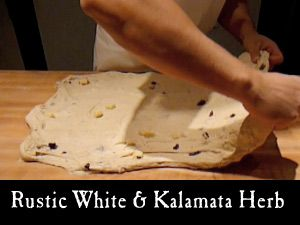 Rustic White and Kalamata Herb Breads | art of sourdough bread | Pint ...