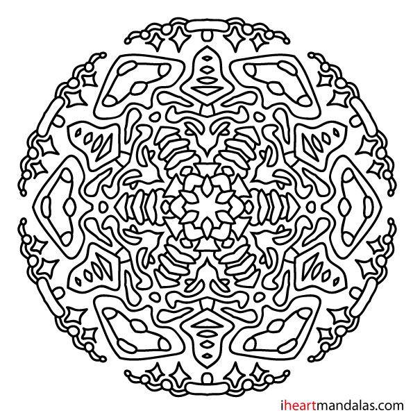 Mandala 23 : Free mandala designs to print