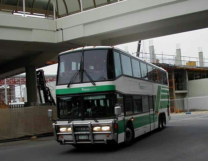 Transperth denning double decker bus transperth amp mtt stuff pint