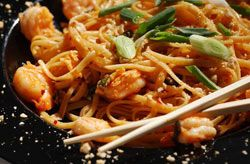 SHRIMP PAD THAI: Thai inspired stir fry that isn't only quick and easy ...