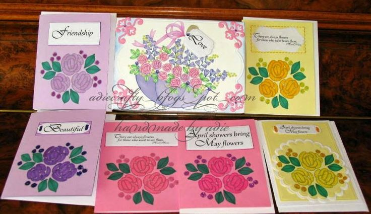 Beccy's Place: More Designer Cards